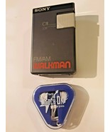 Sony SRF-19W FM AM Walkman Portable Radio With Belt Clip Earbuds Works - $24.70