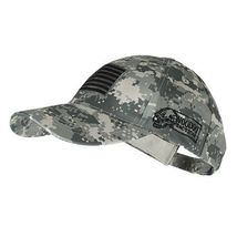 Voodoo Tactical Hunting Hat Cap with Removable U.S.A. Flag Patch Army Di... - $22.00