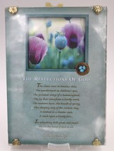 Paula Reflections of God Religious Inspirational Decor Wall Hanging Plaque - $14.84