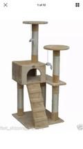 Go Pet Club Cat Tree Furniture Beige - $60.14
