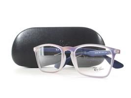 RayBan RB7045 5486 Optical Frame Violet Iridescent Glasses - $56.06
