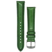 Michele 16mm Vivid Green Patent Strap MS16AA350155 Deco 16 Lilou - $45.89