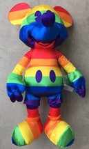 Disney Store Mickey Mouse Memories Rainbow Pride Plush - New With Tags - $29.95