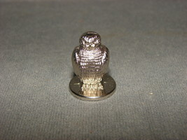 "Metal Figurine: Owl 1"" - $10.00"