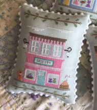 Grocery #8 Main Street Station cross stitch chart Country Cottage Needlework - $5.40