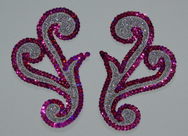 pair appliques sequins applikationen pailletten... - $9.99