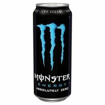 Monster Energy Drink Absolute Zero 500ml, 4 Pack - $10.92