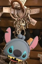 Disney Parks Exclusive Stitch Coin Holder Keychain New with Tag - $13.56