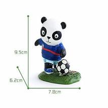 Panda Playing Football Mini Panda Puppet Home Decoration Kids' Gift(French)