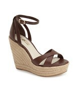 Women's BCBGeneration Holly Espadrille Wedges, BG-HOLLY Cognac Sizes 6-9... - $67.96