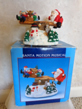 Santa Motion Musical Teeter-Totter Plays Santa Claus is Coming to Town (... - $24.99