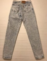 Vintage Levi's Men's Jeans Size 32 X 36 Acid Wash Tapered Denim  - $64.99