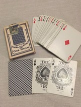 c1953 Bee Club Special Pinochle No 97 Playing Cards Partial Tax Stamp - $29.69