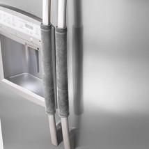 Gray Refrigerator Door Handle Covers Kitchen Fridge Kids Home Cleaning T... - $15.32