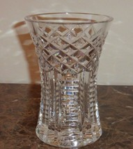 "Waterford Cut Crystal Glass Vase 6"" - $29.00"
