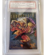 1995 ULTRA XMEN #6 Sabretooth Hunters & STALKERS GOLD Chase PSA 10 Low P... - $3,959.99