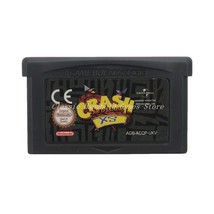 Crash Bandicoot XS GBA Game Boy Advance Reproduction Cartridge EU English - $11.99