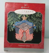 National Armed Services Salute 1998 Hallmark Keepsake Ornament New in Box image 3