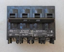MURRAY MEQ9985 200 AMP 4 POLE 120/240 VOLT MAIN CIRCUIT BREAKER  - $60.64