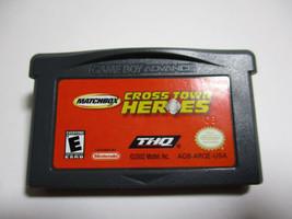 Matchbox Cross Town Heroes (Nintendo Game Boy Advance, 2002) CART ONLY - $7.39