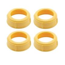 Medela Bottle Nipple Collars Rings New! For Slow or Medium Flow Wide Bas... - $10.29