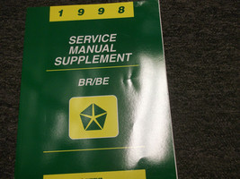1998 Dodge Ram Truck 1500 2500 3500 SERVICE REPAIR SUPPLEMENT OEM 98 CUM... - $32.62