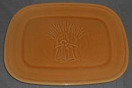 Franciscan LIGHT GOLD WHEAT PATTERN Oval Serving Platter CALIFORNIA - $29.69