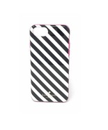 Kate Spade New York Case for iPhone 8 /7/6/6s PLUS Diagonal Striped Blac... - $34.99