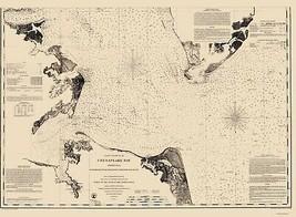 Chesapeake Bay - Fairfax 1863 - 23.00 x 31.31 - $36.58+
