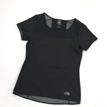 THE NORTH FACE Women's Shirt Size M Black Short Sleeve Tee Ventilated Hi... - $12.48
