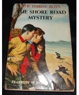 Vtg THE SHORE ROAD MYSTERY Hardy Boys Franklin Dixon Grosset Dunlap HC/D... - $8.54