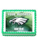 Philadelphia Eagles football edible cake image topper frosting decoration - $7.80