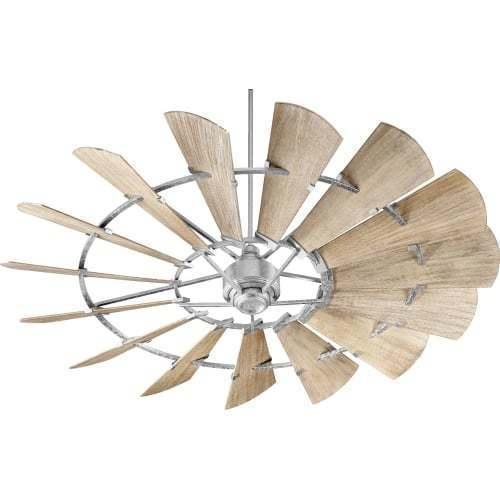 "Windmill 72"" Ceiling Fan 15-Blade Hanging Indoor Ceiling Fan QUORUM - $899.00"