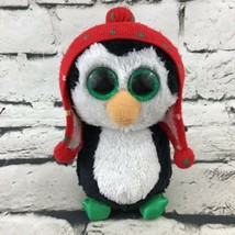 Ty Beanie Boos Freeze Plush Penguin In Winter Hat Stuffed Arctic Animal ... - £8.08 GBP