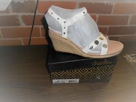 Charles by Charles David Women's Nacho Wedge Sandals - White -NIB - $30.00