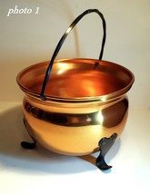 Small Copper Kettle - Approx 6 inches in dia - Great Condition - CG - $14.84