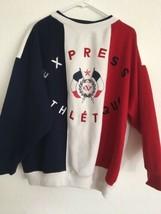 Express Athletique Jeans 65% Polyester 35% Cot Crew Sweatshirt Color Blo... - $114.00
