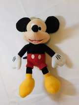 """Disney mickey mouse soft doll stuffed 10"""" toy good used - $21.30"""