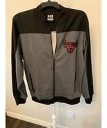 NEW Men's Authentic NBA Chicago Bulls jacket Cotton Blend Sz M FLAW on cuff - $45.00