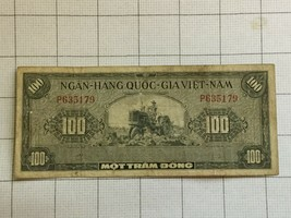 South Vietnam 100 Dong Note #8 - $20.00