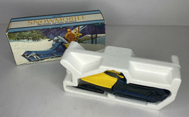 Avon Collectibles Vintage Snowmobile Oland After Shave Bottle Full 4ozs. - $18.40