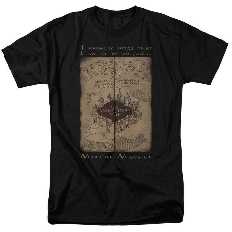 Harry Potter Mischief Managed Marauders Map Hogwarts Remus Lupin HP8062