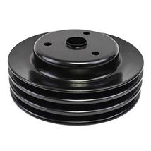 A-Team Performance Crankshaft Pulley Triple-Groove LWP Long Water Pump Compatibl