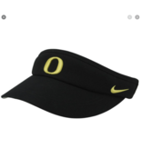 Nike Oregon Ducks Sideline Dri-FIT Adjustable Black Visor  - £18.93 GBP