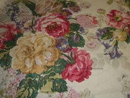 Pillow Sham mw New Ralph Lauren Surrey Garden Floral Fabric Red Blue Gre... - $14.45+