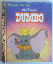 Dumbo Golden Book HC Vintage 1988 Walt Disney - Movie Now Playing Collectible - $8.59