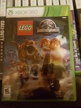 LEGO JURASSIC WORLD Xbox 360  w Box Good - $11.99