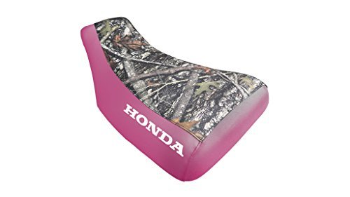 Primary image for Honda Foreman TRX450ES Seat Cover Camo And Pink Honda Logo Year 2000 To 2003