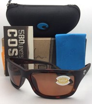 Polarized COSTA Sunglasses TASMAN SEA TAS 66 Matte Tortoise Frame w/ 580... - $169.95