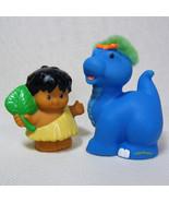 Fisher Price Little People Baby DINO BRONTOSAURUS & CAVE BOY  - $10.00